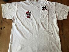 Retro original Mickey and Minnie Mouse Tshirt One Size Fits All (Xl) vintage