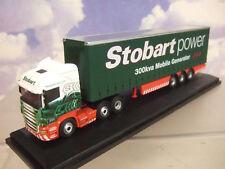 Oxford 1/76 Scania R450 Highline Curtainside TRLR Eddie Stobart Power 76SHL02CS