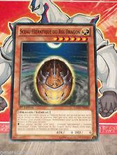 Carte YU GI OH SCEAU HIERATIQUE DU ROI DRAGON GAOV-FR082 x 3