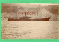 More details for ss okahandja on the rocks portland shipwreck 1910 rp pc j s coombe  ab469