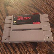 Super Scope 6 Cart Only Super Nintendo SNES - SN1