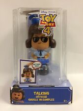 Toy Story 4 Talking Officer Giggle McDimples W/ 3 Faces & Sayings, New, Worn Box