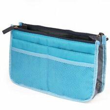 AKORD 12 Pockets Travel Organiser Bag, 28 cm, Blue