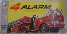 4 Alarm Fire Fighting 1963 Milton Bradley Vintage Board Game 4312