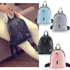 Girl Mini Backpack PU woman Leather Shoulder School Rucksack Ladies Travel Bags