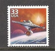 U.S. 1999 MNH Celebrate the Century 33 cent single Star Trek