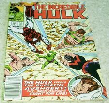 Incredible Hulk 316, NM- (9.2) 1986 Byrne art! 50% off Guide!