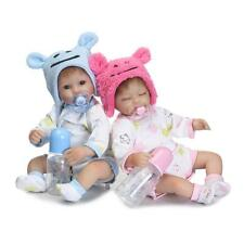 "17"" Reborn Baby Twins Doll Handmade Silicone Vinyl Lifelike Dolls Toy (One Doll)"