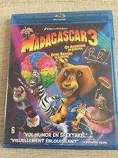 """BLU-RAY """"MADAGASCAR 3"""""""