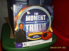 #0346 THE MOMENT OF TRUTH BOARD GAME, NEW IN WRAPPER  PARTY GAME REVEAL YOURSELF