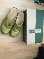 Josef Seibel Green Roma Shoes, Size 41, Very Good Condition