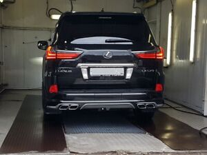 For Lexus Lx Lx570 Lx450d rear bumper kit 2016 2017 2018 2019 2020 frp