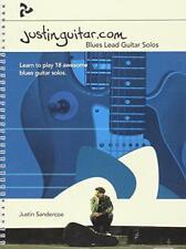 Justinguitar.com Blues Lead Guitar Solos by Justin Sandercoe | Paperback Book |