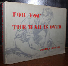 1948 For You The War is Over Gordon HORNER 12 Tipped in Plates Signed Bill Bowes