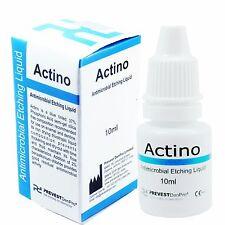 2 x Actino Liquid Etchant Dental Antimicrobial Etching Tooth Enamel & Dentine