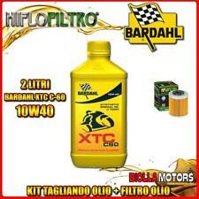 KIT TAGLIANDO 2LT OLIO BARDAHL XTC 10W40 KTM 690 Enduro R 1st Oil Filter 690CC 2