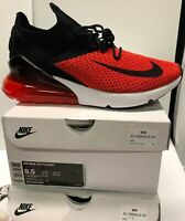 Nike Air Max 270 Flyknit Chile Red Challenge Bred Black