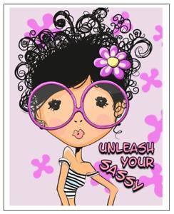 Internet Password Book Large Print Website Keeper Username Organizer Sassy Girl