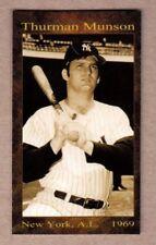 Thurman Munson '69 New York Yankees rookie season rarity