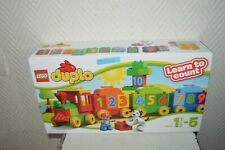 BOITE LEGO DUPLO 1.2.3  TRAIN ET WAGON 10558 LEARN TO COUNT