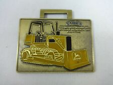 John Deere JD75B Bulldozer Stiles Metal Watch Fob 14th Annual Northeast Shop