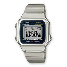 Casio Collection Uhr B650WD-1AEF Digital Silber