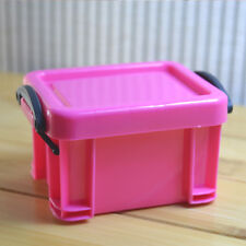 Candy Color Coin Pill Storage Box Earring Ring Jewelry Case Gadget Organizer