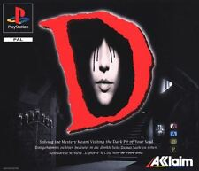 Playstation 1 Spiel - D (mit OVP) (PAL) Acclaim Mystery Horror Adventure