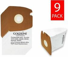 (9) Premium MM Style Replacement Vacuum Bags for Eureka Mighty Mite Canister