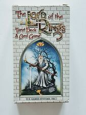 The Lord Of The Rings - Tarot Deck & Card Game- (1996) U.S. Games System Inc. Nm