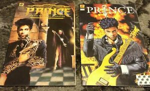 PRINCE 1991/94 1st Print Alter Ego #1 Three Chains Of Gold #1 COMIC BOOKS NPG