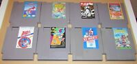Lot of 8 Nintendo NES Games Wholesale Lot Fast Shipping!