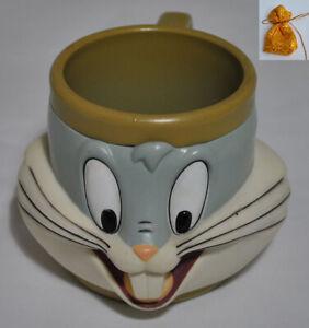 1994 Looney Tunes Bugs Bunny  Cartoon Mug KFC Kid Meal Thailand Rare Collectible