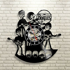 NEW! The Beatles Vinyl Record Wall Clock Watch Modern Time Cool Design Classic