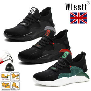 Men Lightweight Safety Shoes Steel Toe cap Women Work Trainers Shoe Hiking boots