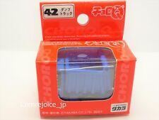 Choro Q TAKARA STD-42 DUMP TRUCK Blue STANDARD No.42 NEW F/S
