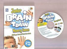 JUNIOR BRAIN TRAIN MEMORY GAMES. GREAT GAMES SOFTWARE FOR AGES 7-11 ON THE PC!!