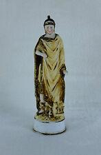 Ancienne statuette Biscuit porcelaine Personnage Grecque Deesse TBE