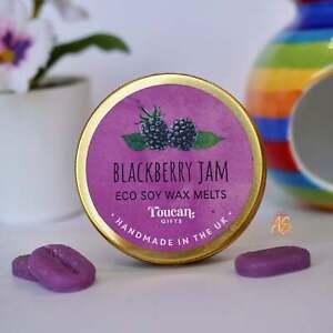NEW - Blackberry Jam Wax Melts 12 Mini Vegan Friendly Eco Soy Wax Melts UK Made