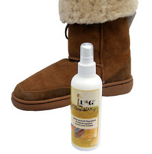 Ugg Boot Leather Protector Spray Repellent Water Oil Mould Mildew Sheepskin Wool