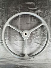 VINTAGE Black Steering Wheel  American Austin Bantam Jeep Willys Boat Sheller