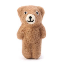 Newborn Photography Props Accessories Felt Knit Teddy Bear Infant Handmade Toy