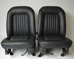PAIR OF FORD CORTINA MK2 FRONT SEAT COVERS Series 2 1600E