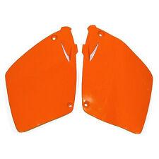 Ufo Seitenteile Seitendeckel orange KTM EXC SX 125 250 300 380 400 520 98-03