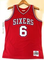 Julius Erving Dr.J Sixers 76ers Mitchell Ness 1982-83 HWC Swingman Jersey Red