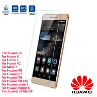 Tempered Glass Screen Protector Cover for Huawei P10/ P9/ P9 /P8 Lite /P8 2018