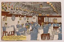 Postkarte New York Paradies Spaghetti Haus Restaurant Magnolia Ave Daytona Beach