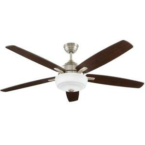 Sudler Ridge 60 in. Brushed Nickel Ceiling Fan Replacement Parts