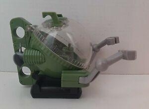"""Batman Robin Green Imaginext Ocean Submarine Mini-Sub 2007 Mattel 4.5"""" Tall @@"""