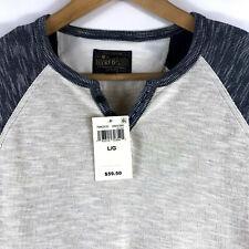 "Lucky Brand,Men/'s Casual Shirts,Long Sleeve,/""HENLEY/""Size M/_L/_XL/_2XL"